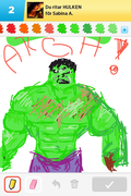 the hulk, hulken, draw something