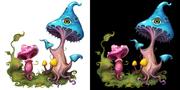 Magiska svampar