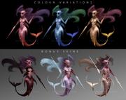 Concept för spelkaraktär