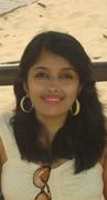On a recent vacation to Goa - Sitting on a bench at the beach