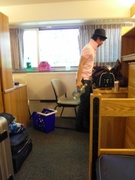 in dormitory