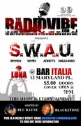 S.W.A.U's 1st. Weekly Event Flyer