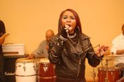 2010 Trumpet Awards Gifting Suite Quiniyah Performing 2
