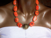 The Marina Coral Necklace