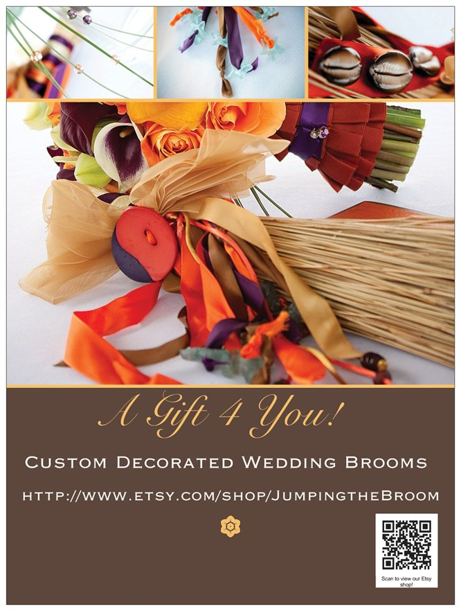 A Gift 4 You! Broom Poster