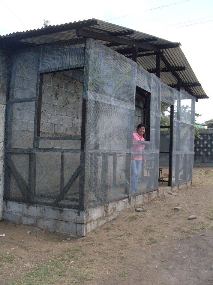 eco bricks project Asart Nicaragua