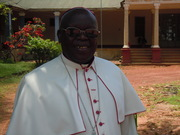 Archbishop Odama on the day before the Award Ceremony