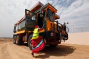 Pakistani Hindu Woman Truck Driver 2