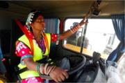 Pakistani Hindu Woman Truck Driver