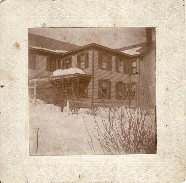Back of Kuhlthau's General Store