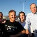 Andy with Mitch Daniels