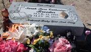 Sarah's headstone