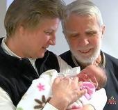 Dad Heidi with Emma