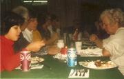 Kris McKool,Alex Laham,Kevin McKool & Peggy Miller Laham McKool Graphics xmas 1980