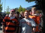 Garrett at Va.Tech with friends Fall 2010