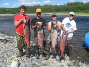 King Salmon Fishing Trip
