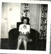 First born, Gloria Jean Leandro.