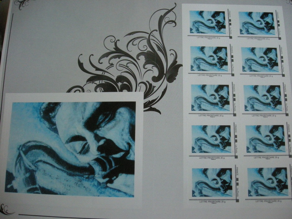 10 officials french stamps STAN GETZ