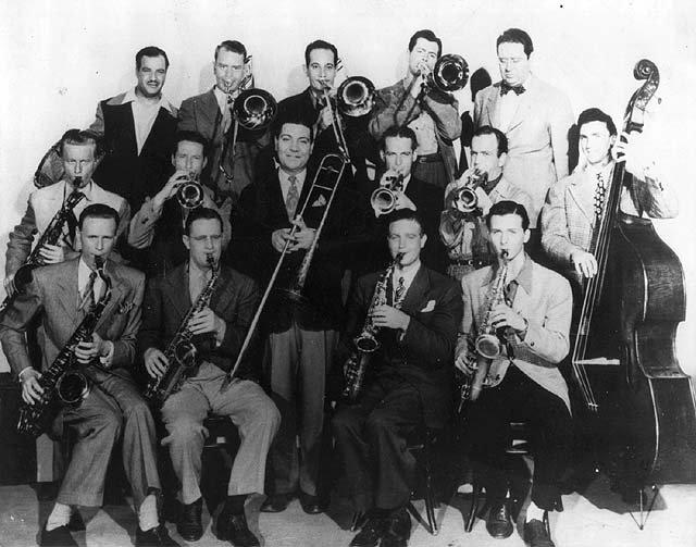 Jack Teagarden Band in '43 w-Stan Getz