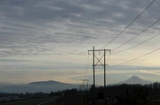 Marine Drive - Mt Hood post sunrise view