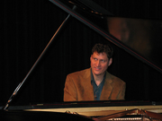 Harlan Mark Vale at the piano
