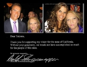 Arnold & Maria  Shriver