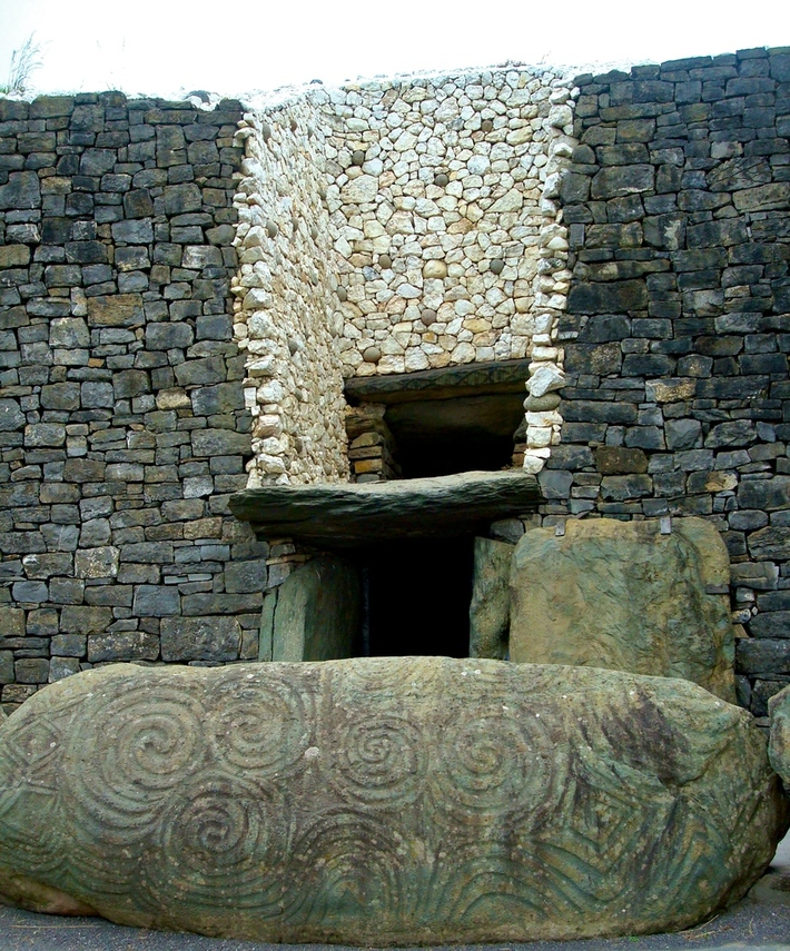 The Entrance to Newgrange