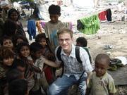 David with Children of Kanjar Community