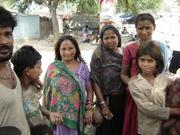 women belonging to Kanjar Community