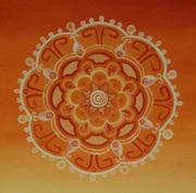 Orange Chakra Mandala