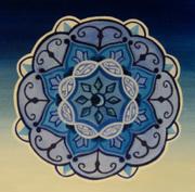Blue Chakra Mandala