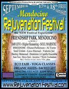 Mendocino Rejuvenation festival Sept 17-18
