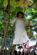 Emma in a tree
