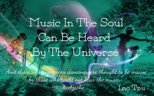 Music In The Soul~