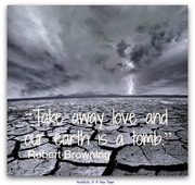 Take away love..