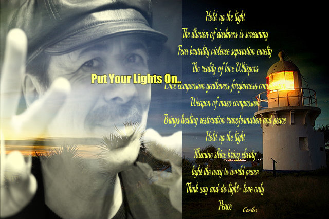 Hold up the light ~