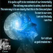 as god created me ~