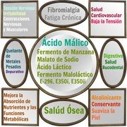 Infografía Beneficios del Ácido Málico