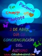 2 de Abril día de Concienciación del Autismo