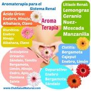 Aromaterapia para el sistema renal