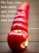 Refrán Comer Manzana en Ayunas