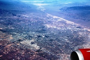 Las Vegas from 38,000ft