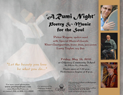 A Rumi Night of Poetry & Music for the Soul