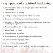Awakening Symptoms