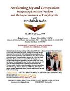 Awakening Joy and Compassion with Pir Shabda Kahn
