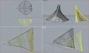 estudio de formas en palomar rhino 5