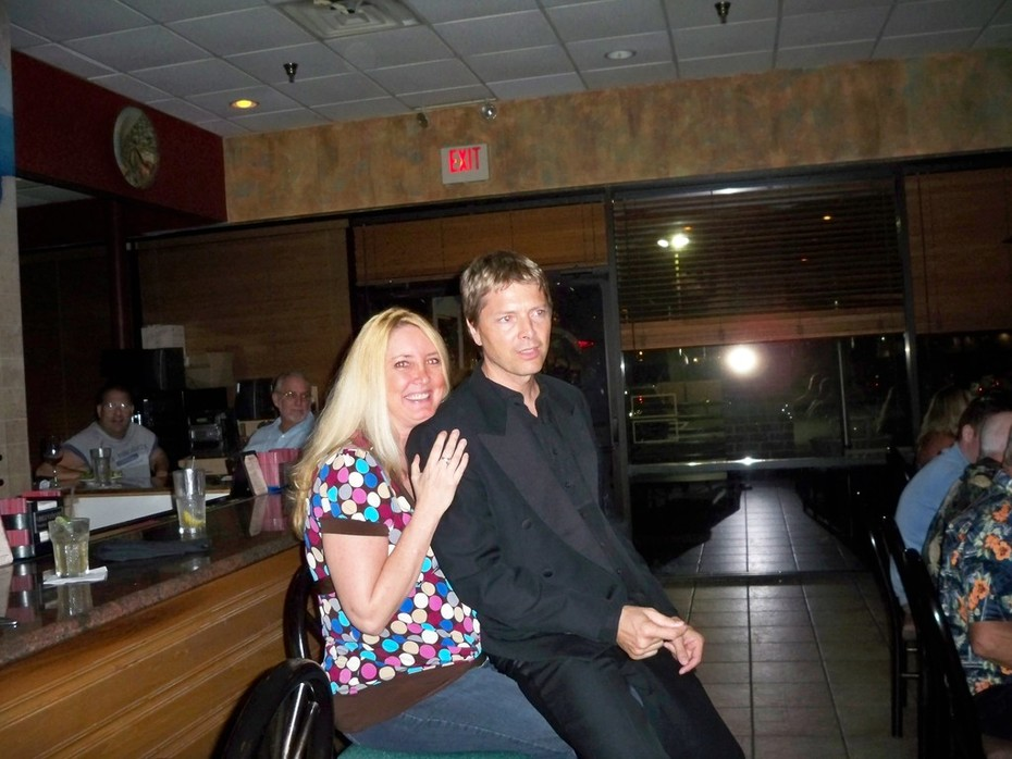 Sue's Birthday @ Caffe Positano with Steph Carse