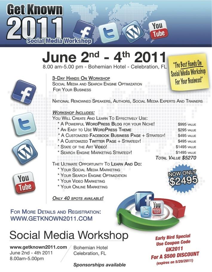 3-Day Social Media Workshop