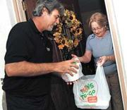 Deliverying Fresh Hot Food To You!!