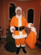 """""""Orange 'n White Santa"""""""